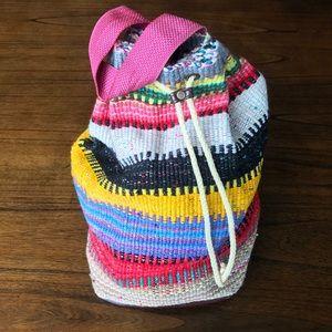 🌟HOST PICK🌟 90's Hand-made Barrel Backpack 🎒